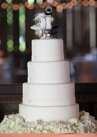 A Barn Wedding For the Birds
