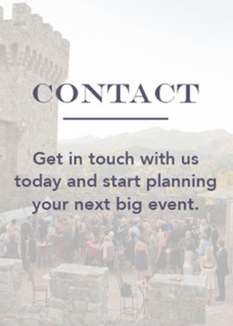 Contact Napa Wedding Planning