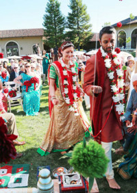Indian and Western Ceremony