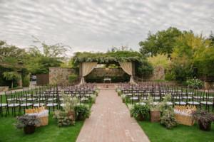 Wedding Ceremony In Yountville