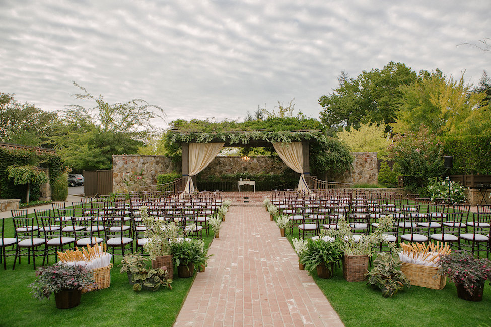 Wedding Ceremony In Yountville