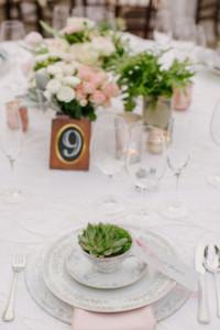 Wedding Reception Centerpiece Yountville