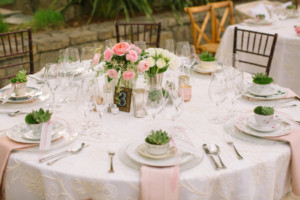 Napa Valley Wedding Reception Table