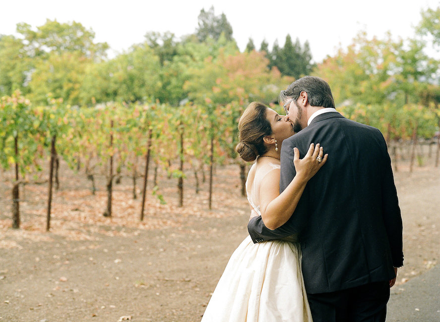 Napa Valley Wedding Bride
