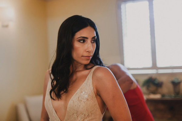 Napa Valley Bride Sophisticated Sofreh