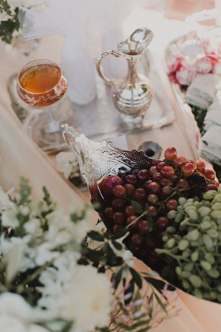 Vintage Estates Wedding Reception in Napa Valley