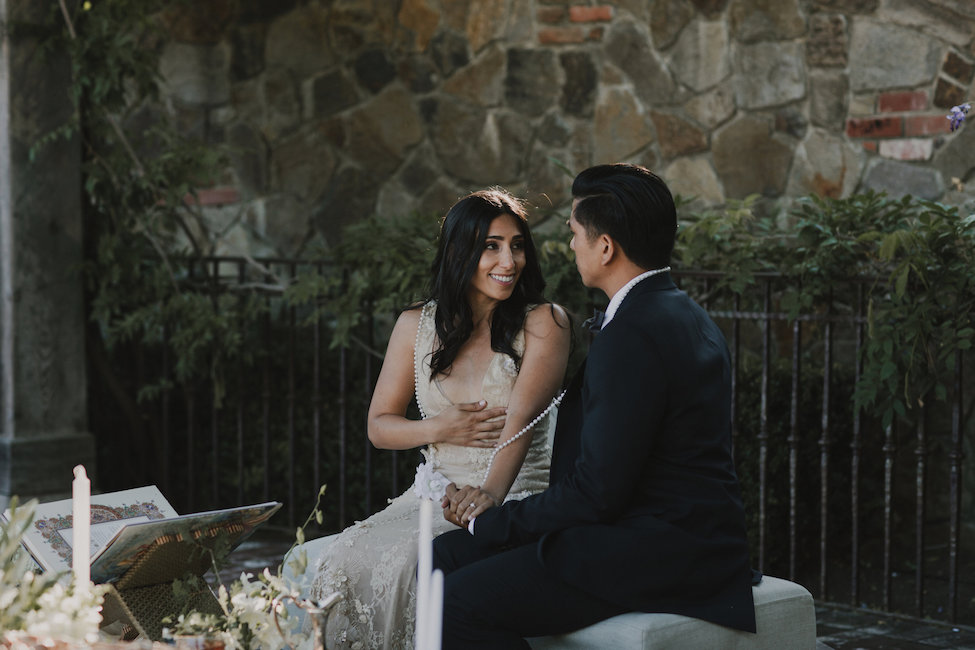 A Sophisticated Sofreh Wedding in Napa Valley