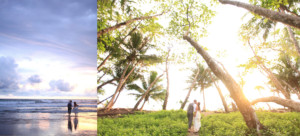 Cole Drake Events Tropical Wedding