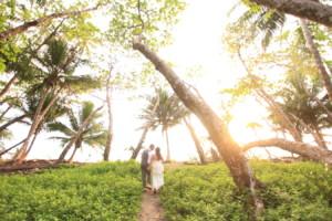 Tropical Weekend Wedding