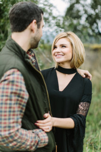Black Swan Lake Engagement Shoot