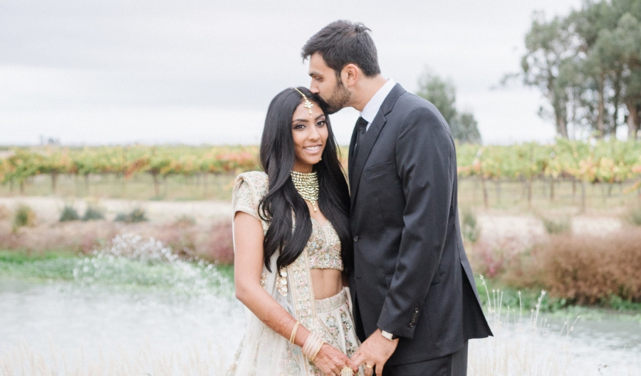 A Sonoma California Plant-Filled Indian Wedding